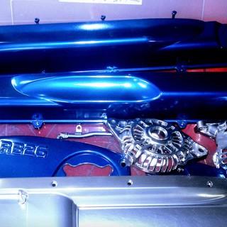 Синий двигатель nissan rb26